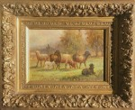 Meyer Straus New Beginnings Sheep framed