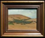 Frank Van Sloun Monterey Dunes framed HR