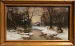 Carl Von Perbandt Winter Woods