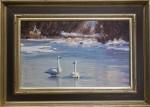 Walker Winter Romance II with frame