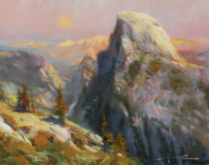 F. Michael Wood Arising Half Dome