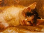 F. Michael Wood Cat Nap