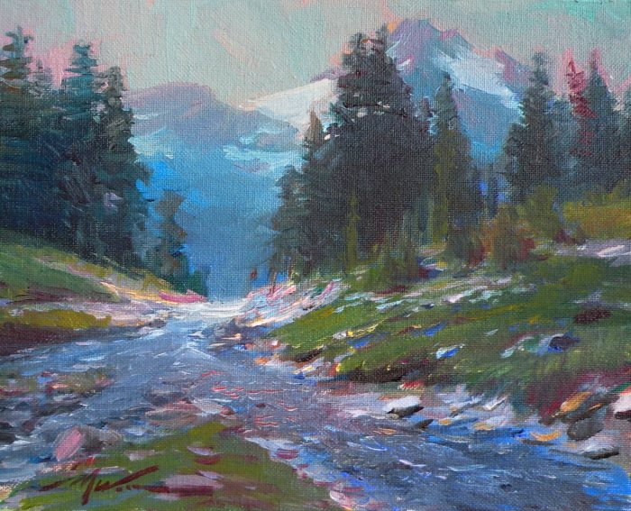 F. Michael Wood Moon Mountain Stream