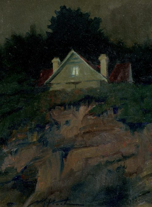 F. Michael Wood Sea View Cliff House