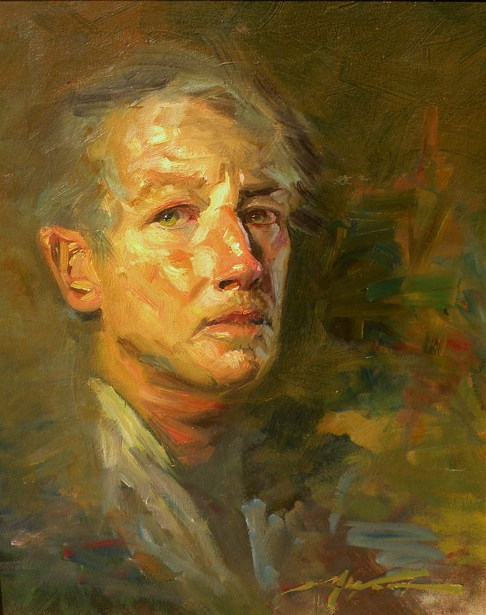 F. Michael Wood - Self Portrait II