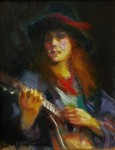 F. Michael - Wood Study for Young Mandolin Player
