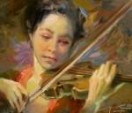 Wood The Violinist