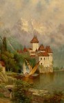 Edwin Deakin Castle at Chillon