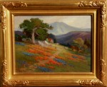 Arthur Best - Poppies & Lupine Mt Tam