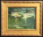 Callens Lilies at Giverny frame