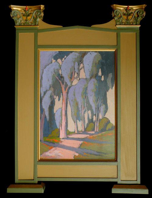 Jack Cassinetto Path Through the Eucalyptus
