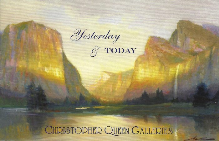 Yesterday & Today Show at Christopher Queen Galleries