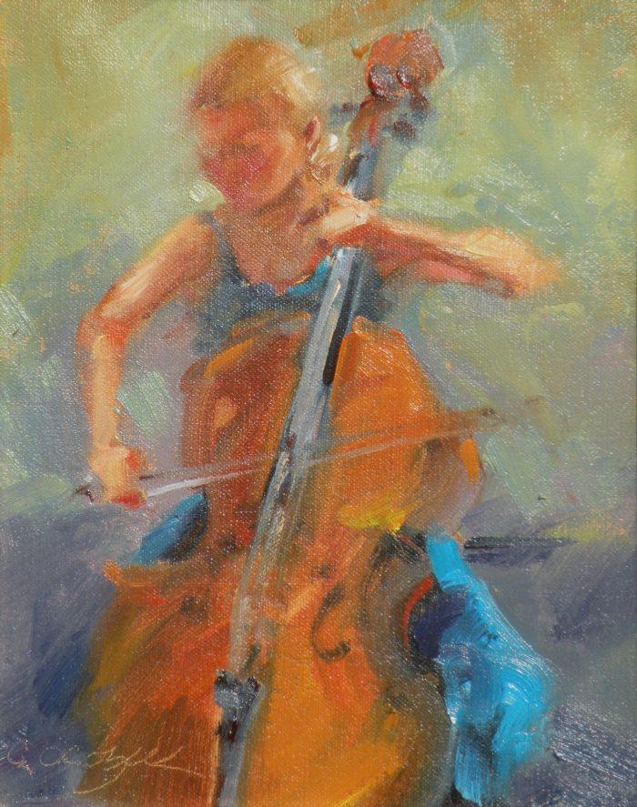 Christine Crozier - Cello Player