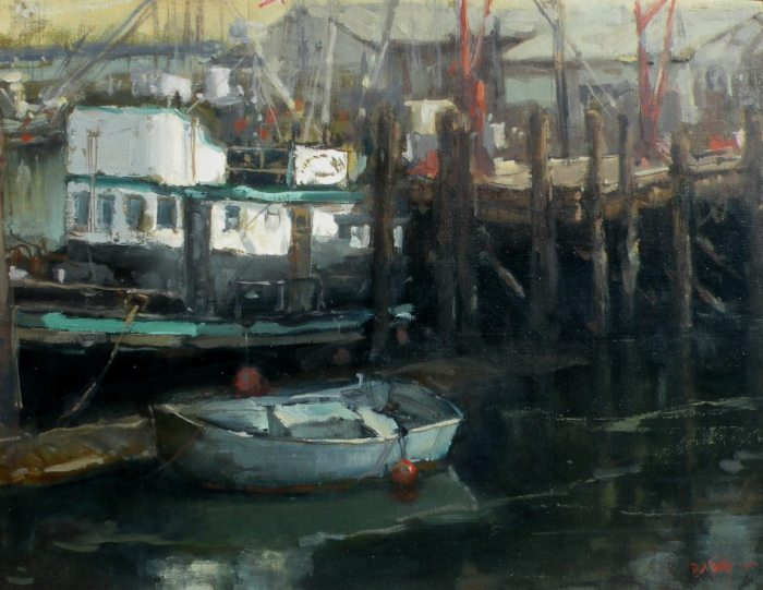 Don Ealy - At the Wharf
