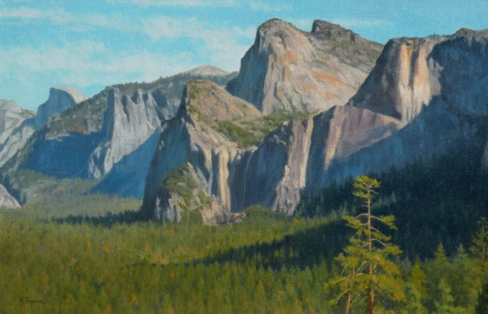 Allen Figone - Bridal Veil Falls & Cathedral Rock