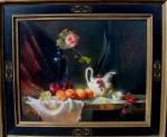 Ronald Goldfinger - Apricots & White Creamer