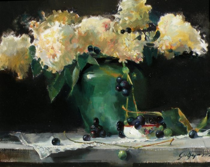 Ronald Goldfinger - Homegrown Hydrangeas and Grapes