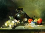 Goldfinger Jug & Dried Roses