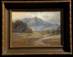 Percy Gray Mt. Tamalpais framed