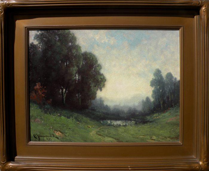 Carl Jonnevold - Pond & Trees