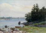 Chris Jorgensen - Moored Rowboat