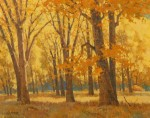 Paul Kratter Golden Oaks 16x20 oil S