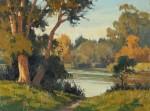 Paul Kratter Lakeside Fall Colors