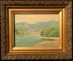 Lorenzo Palmer Latimer - Riverbank Willows