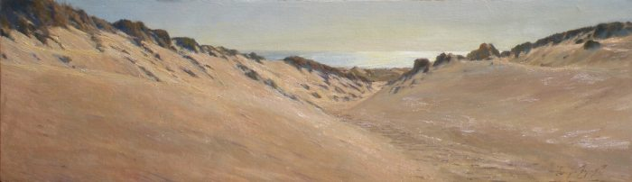 Sergio Lopez - Hiking the Dunes Looking West
