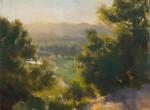 Lopez Sun Setting on Shiloh Ranch