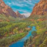 Sergio Lopez Virgin River Zion Canyon