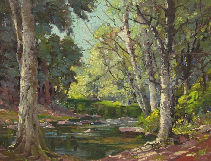 George Demont Otis - Lagunitas Creek