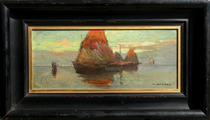 William Ritschel Red Sails