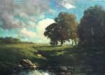 Julian Rix Oaks & Clouds