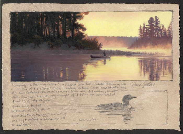 Dave Sellers - Canoeing the Boundary Waters
