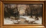 Carl Von Perbandt Winter Woods
