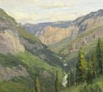 Walker Entering Yosemite