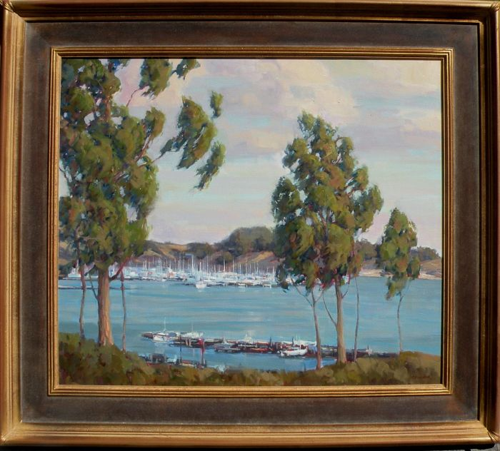 Bart Walker - View Above the Harbor