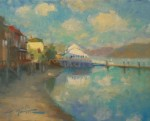F. Michael Wood Along the Waterfront