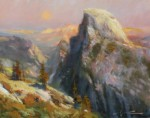 F. Michael Wood Arising Half Dome