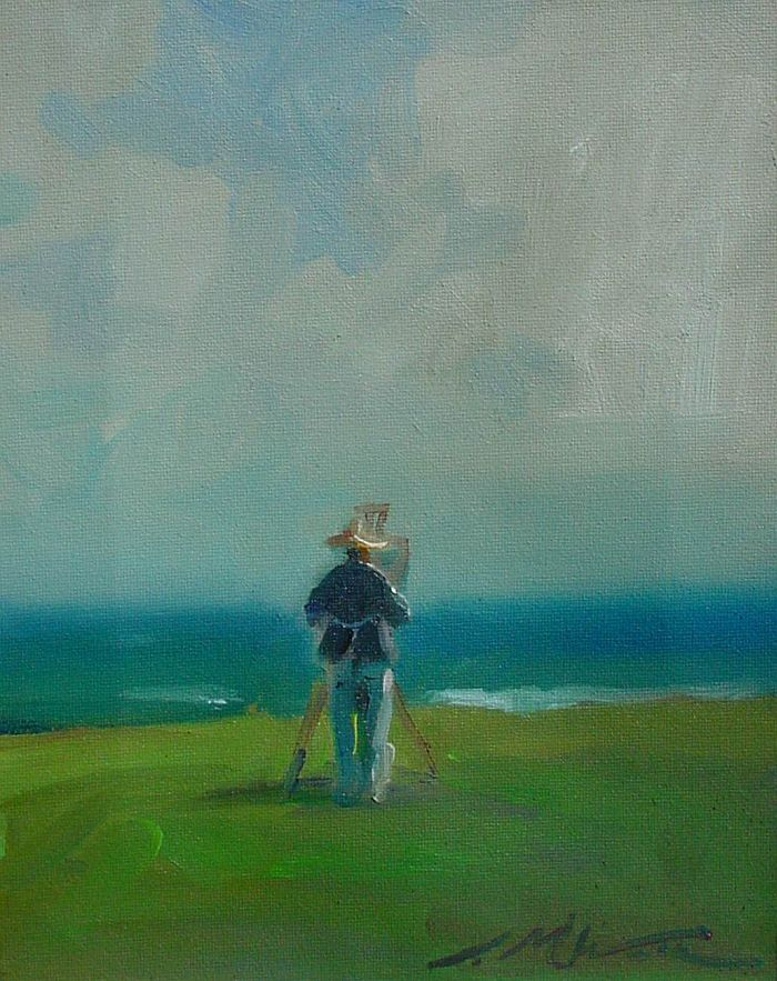 F. Michael Wood - Artist with a View