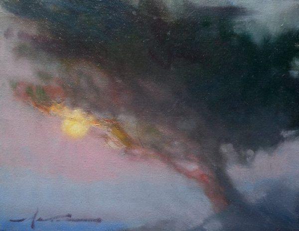 F. Michael Wood Cypress Moon