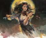 F. Michael Wood Fiddler's Moon
