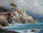 F. Michael Wood - Lone cypress through it all