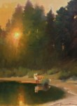 F. Michael Wood Red Fox at Sunset