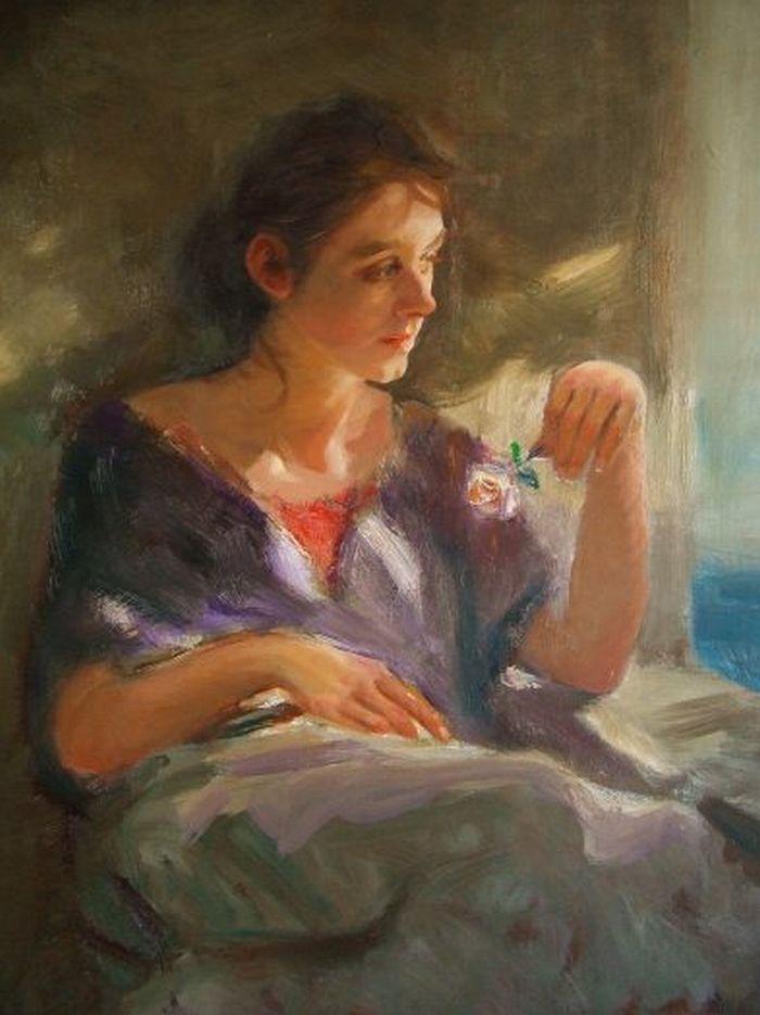 F. Michael Wood - Solitary Bloom