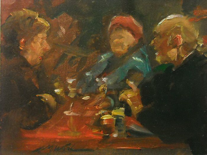 F. Michael Wood - The Red Table