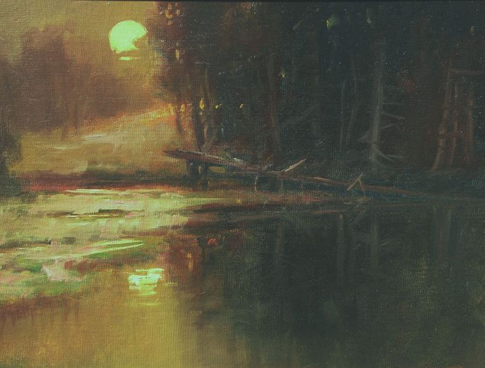 F. Michael Wood - Winter Moon
